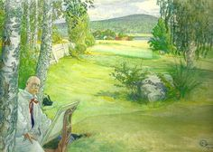 Carl Larsson (May 28, 1853 – January 22, 1919) was a Swedish painter and interior designer