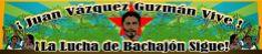Invitación a la Conmemoración de Juan Vázquez Guzmán, 26 abril 2014 en Cumbre Na'choj, Chiapas