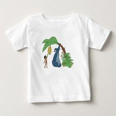 Baloo and Mowgli Disney Baby T-Shirt - click to get yours right now!