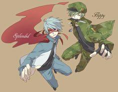 Happy Tree Friends Flippy, Htf Anime, Friend Anime, Anime Version, Three Friends, Fan Art, Fandoms, Cartoons, Otaku