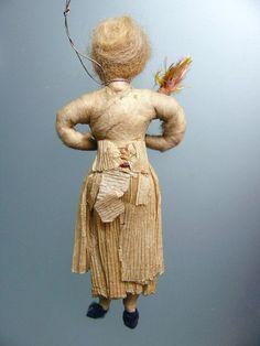 Antique Cotton Figures