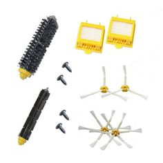 CIMC LLC For IRobot Roomba 700 Series 760 770 780 Accessory Kit -Includes A Set Of 5 Side Brushes & 10 Filters - IRobot Replacement Brush & Filter Kit - фото 9
