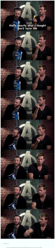 Avengers Assemble | Chris Evans & Chris Hemsworth Interview