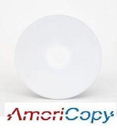 100 pcs Americopy Blank CD 700MB 80 mins 52X White Top A Grade by Americopy. $15.99