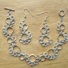 My latest chain maille