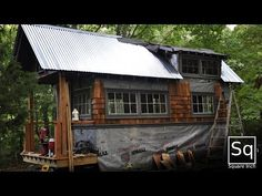 Building a Tiny House - Welcome to my Future Home! This is a really nice Tiny House {video}