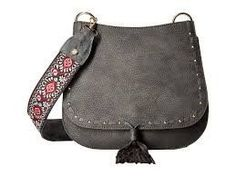 Steve Madden Grey Saddle Bag from Chocolate Shoe Boutique