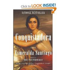 exotic tropical girl power history - Conquistadora by Esmeralda Santiago