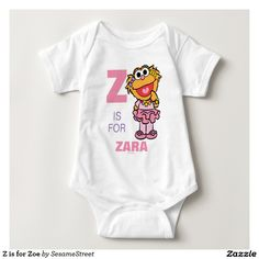 Z is for Zoe Infant Creeper