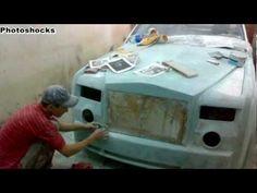 Self Made Rolls Royce Phantom base on Mercedes