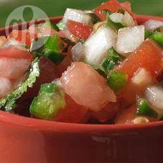Easy Fresh Tomato Salsa @ allrecipes.com.au