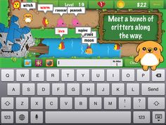 Type Defender ($0.99) Type each critter's word as quickly as you can to protect your precious honey and earn gold along the way. Spell the words correctly the first time to increase your no-miss multiplier and earn even more gold!   Additional Features: ❀ Create custom word lists to practice your spelling words ❀ Select from 3 difficulty levels to suit all ages
