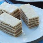Prajitura imitatie dobos Caramel, Sticky Toffee, Candy, Fudge