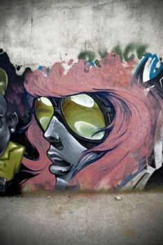 Graffiti art: how can people call this vandalism? THIS is art!