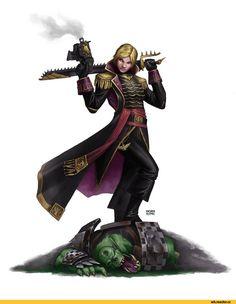 Warhammer 40000, warhammer40000, warhammer40k, warhammer 40k, wha, Forty thousandths, fandoms, Commissar (wh 40000), Astra Militarum, Imperial Guard, ig, Imperium, Imperium, Commission, Orks