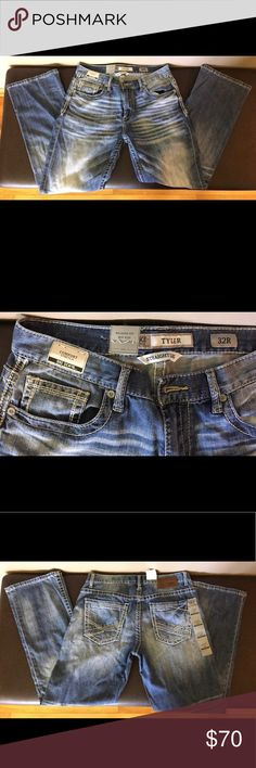 Men's BKE Jeans NWT jeans from Buckle, size 32R, style Tyler, relaxed fit, mid rise BKE Jeans