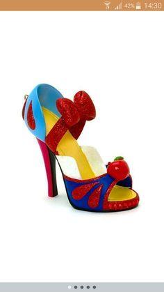 Snow White inspired heels!!