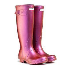 Hunter Original Pearlescent Wellington Boots, Pearl Purple UK 7 Eu40/41 Wellies | eBay
