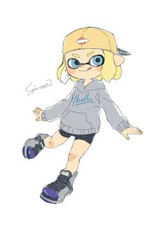 Splatoon 2 Game, Callie And Marie, Pretty Art, Fan Art, Art Styles, Disney Characters, Drawings, Artist, Cute