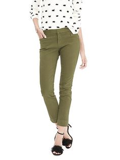 New Sloan-Fit Garment-Dye Slim Ankle Pant | Banana Republic