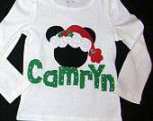 mickey christmas shirt