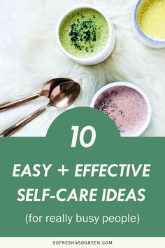 With so much going on and a full schedule, self-care is so important. I'm sharing my fave easy, yet totally effective self-care rituals for BUSY PEOPLE. Think things that take 10 minutes or less, you can easily do any time of day, anywhere in the world. #selfcare #selflove Healthy Mind, Healthy Habits, Clean Diet, Mindful Eating, Healthy Lifestyle Tips, Make A Person, Whole 30 Recipes, How To Relieve Stress, Self Care