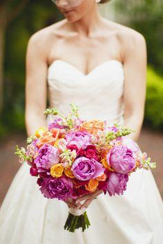 Pink and orange bouquet (Tina Bass)