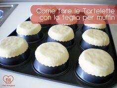 Come fare le tartine con la teglia per muffin #howto #tutorial