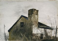 "φ.ΠΠΠ..φ ""House Near Chadds Ford"" by Andrew Wyeth"