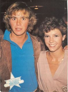 Christopher Atkins and Kristy McNichol