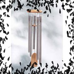 'Resonant Wind-Chime aluminium-natural pine wind chime' is going up for auction at  8pm Sun, Jul 14 with a starting bid of $5.