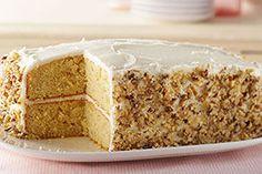 Banana-Sour Cream Cake