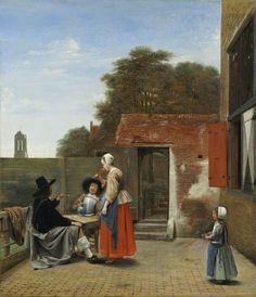 Pieter de Hooch (Dutch, 1629-1684)