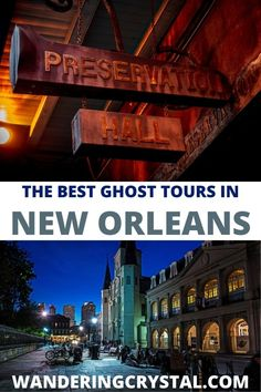Spend an evening exploring the haunted side of New Orleans with one of the best ghost tours in New Orleans. Ghosts, Vampires and Crime. The best ghost tours in New Orleans, wanderingcrystal, ghost tour New Orleans, spooky things to do in New Orleans, Explore New Orleans, NOLA things to do, Travel NOLA, New Orleans haunted locations, haunted things to do in New Orleans, haunted places in New Orleans, Louisiana things to do, dark history in New Orleans, New Orleans Dark Tourism #NewOrleans… Tours New Orleans, New Orleans Travel, Louisiana Usa, Ghost Tour, Haunted Places, French Quarter, Vampires, Ghosts, Exploring