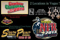 Don't forget to stop by our booths in Vegas!! We'll be at two locations.