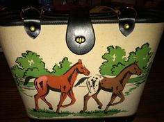Enid Collins Colts Play Purse