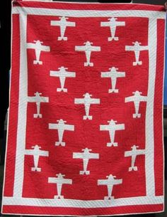 Fabulous Airplane Quilt