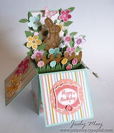 Card in a Box ~ Judy May