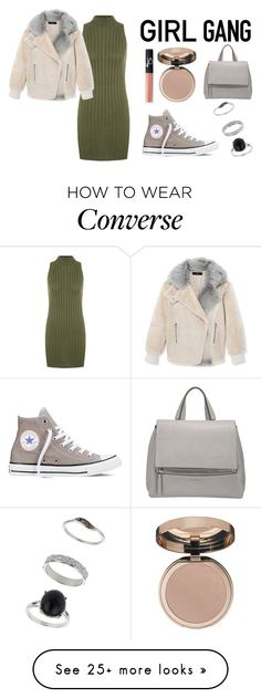 """""""Unbenannt #697"""" by sabrinalutz on Polyvore featuring WearAll, TIBI, Converse, Givenchy, NARS Cosmetics, Charlotte Tilbury, Miss Selfridge, women's clothing, women and female"""