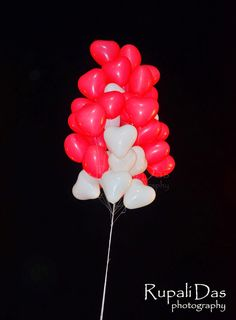 Balloons #colors #photography #redwhite