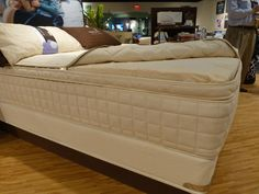 Naturepedic added a new box-top bed to its completely customizable, all-organic lineup.