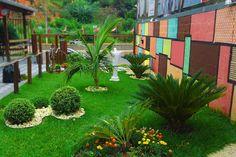 Guia jato: wallpaper jardinagem