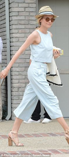 529c2a8771335 Diane Kruger and January Jones attened star-studded Memorial Day party. Joel  SilverJanuary ...