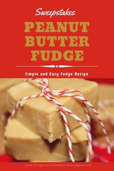 It just blows my mind that I realized I have never shared my award-winning peanut butter fudge with you! Peanut Butter Squares, Peanut Butter Fudge, Creamy Peanut Butter, Homemade Desserts, Fun Desserts, Delicious Desserts, Dessert Recipes, Microwave Fudge, Microwave Desserts