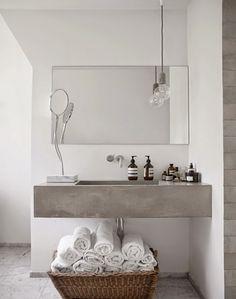 beton Waschbecken