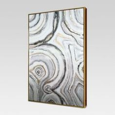 "Geode Framed High Gloss Canvas 40""x25"" - Project 62™"