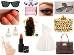 """""""what I wore to the del mar horse race today!!! :))"""" by luvdance123 ❤ liked on Polyvore"""