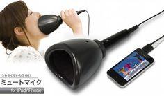 Geluidloze USB Karaoke microfoon voor iPhone en iPad   IMAGZIN/iLife