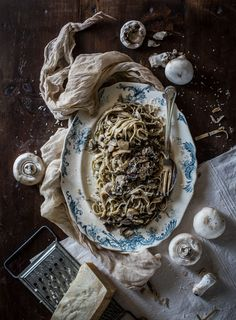 Mushroom & Truffle Homemade Tagliatelle: Depth vs. Complexity in the Kitchen - Hortus Natural Cooking - Natural, Vegetarian, Italian Food