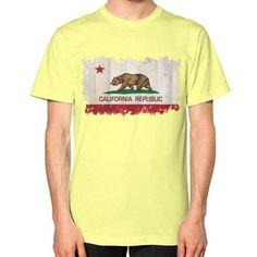 California Republic Unisex T-Shirt (on man)